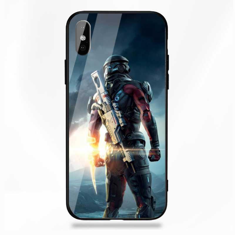 Tempered Glass Mass Effect Case