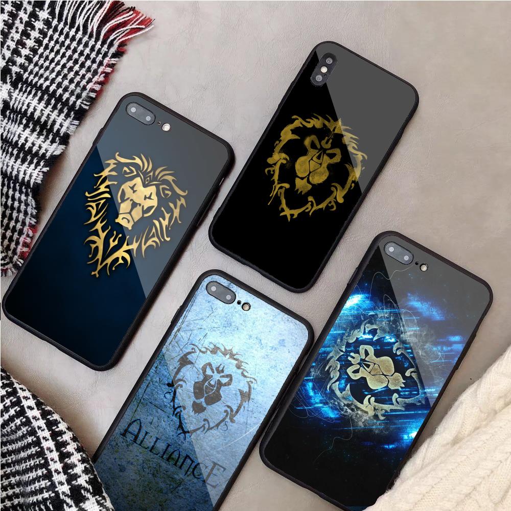 Alliance World of Warcraft Phone Case