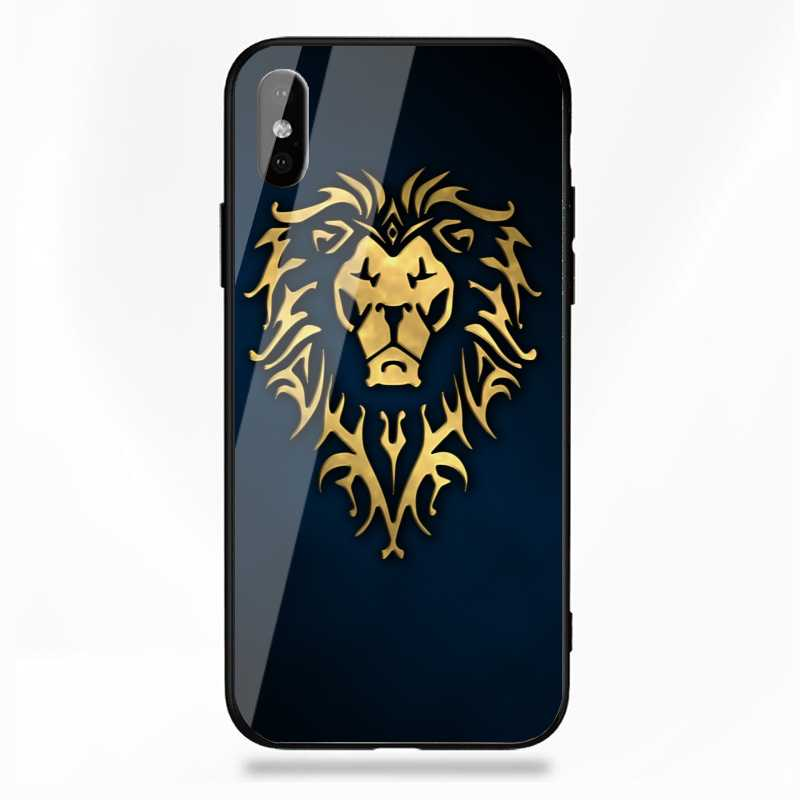 WoW Alliance Lion Symbol Phone Cover