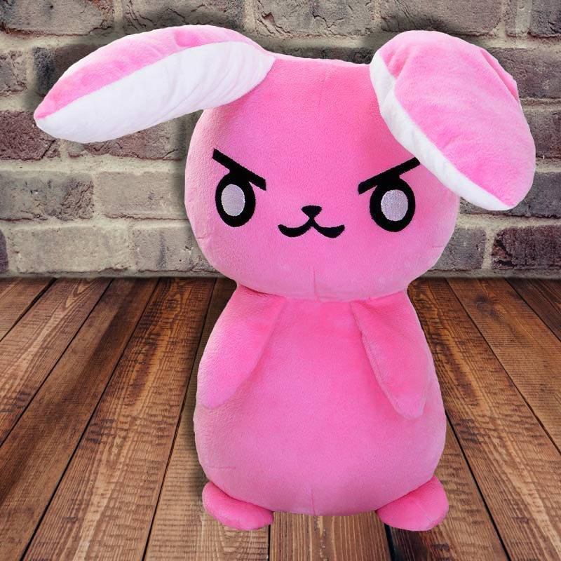 Overwatch Dva Pink Bunny Plush