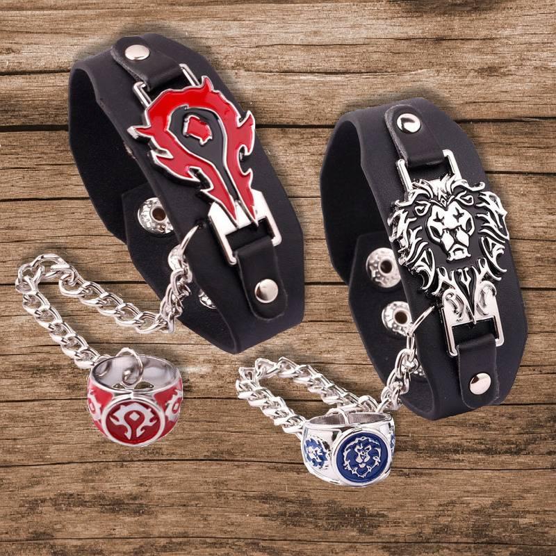 Horde and Alliance Bracelets