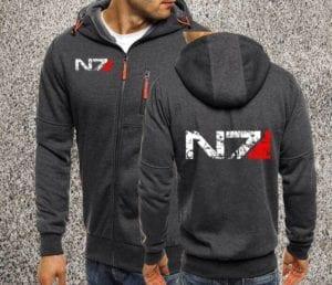Mass Effect Zip Up Hoodie