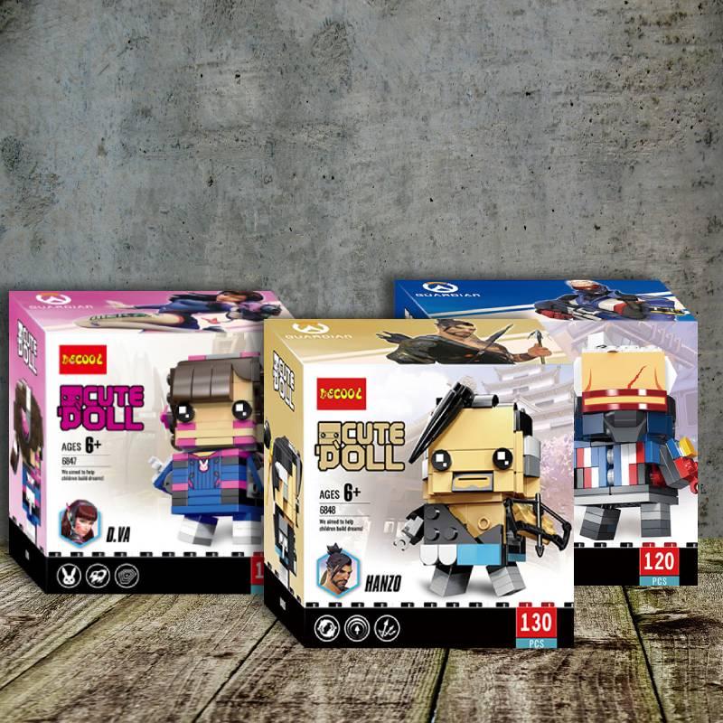 Lego Overwatch Minifigures