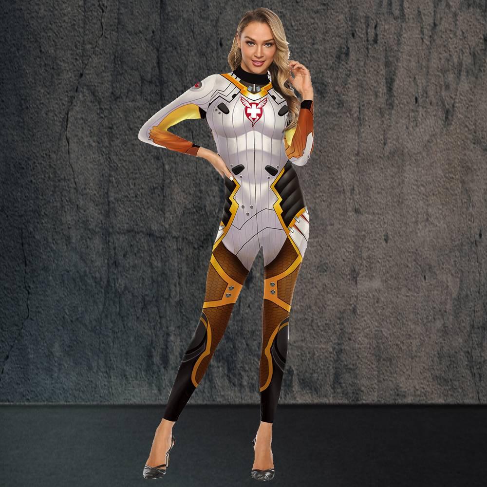 Overwatch Mercy Costume