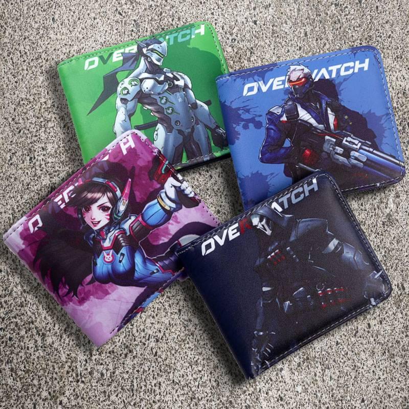 Overwatch Wallets With Favorite Heroe
