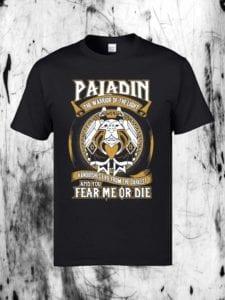 World of Warcraft Paladin T-shirt