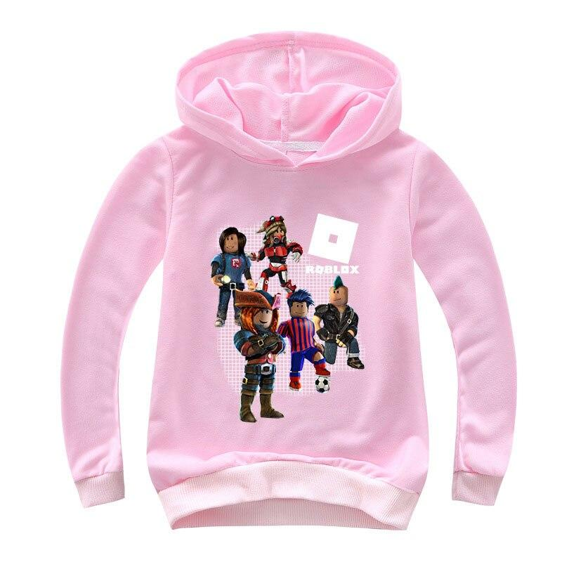 Roblox Hoodie For Girl Pink color