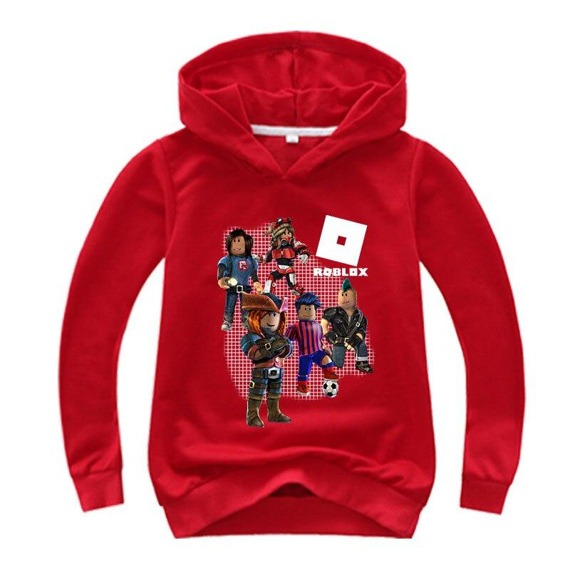 Roblox Hoodie For Girl Red color