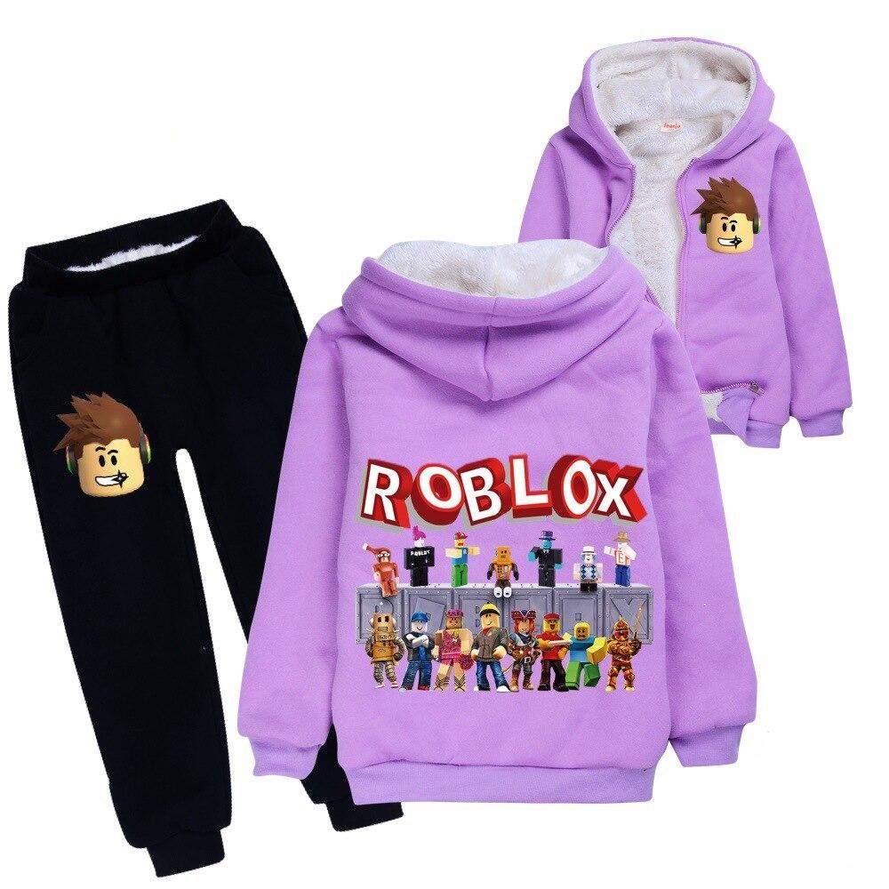 Roblox Winter Sweatshirt & Pants set