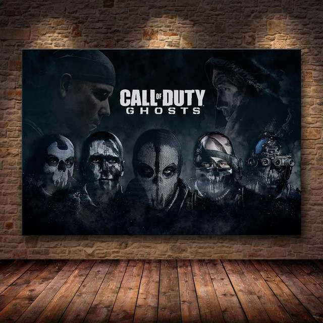 Call of Duty Ghost Poster For Your Room