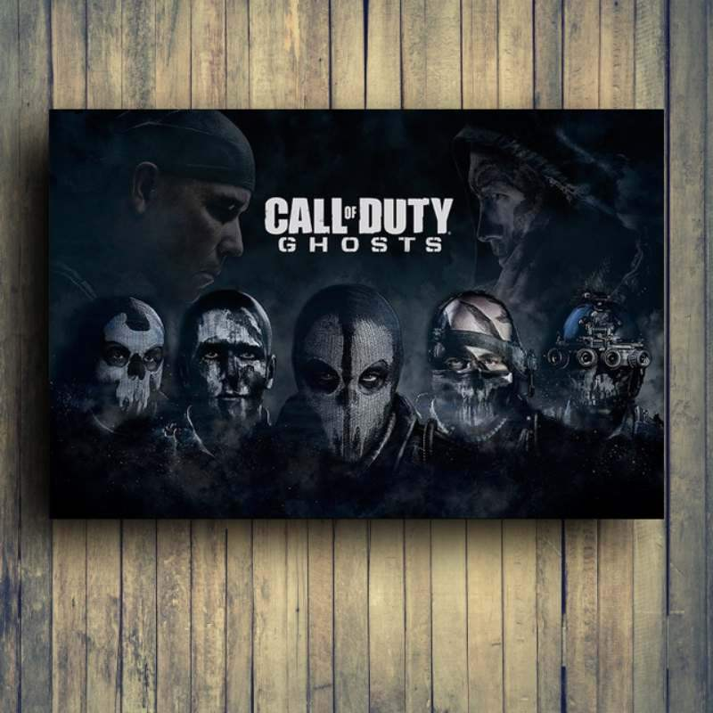 Cod Ghost poster