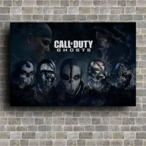 Ghost Call of duty poster